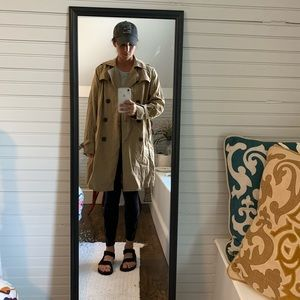 Gap Khaki Trench Coat